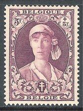 Belgium 1931 Anti-TB purple 5f + 5f mint SG599