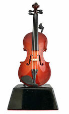 "6"" Violin Miniature w/ Base Music Instrument Fairy Garden Dollhouse Stand"