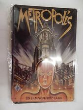 Blechschild METROPOLIS,Movie,30 cm,Super Deko fürs Heimkino