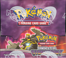 POKEMON DIAMOND/PEARL STORMFRONT BOOSTER BOX BLOWOUT CARDS