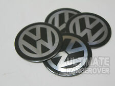 LEGA RUOTA VW RS4 GOLF PASSAT BORA POLO BEETLE centro CAP badge 40mm 4 cm