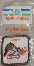 1982-1985 Girl Scout BROWNIE Pre Try-It Badge BE A DISCOVERER - NEW in Package
