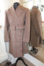 "CC41 1940s tweed coat belted IMMACULATE - Ditsy Vintage - 40"" 42"" S wartime WWII"