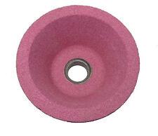 100mm Rosa Smerigliatura Coppa Ruota / ossido di alluminio