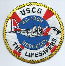 United States Coast Guard (USCG) patch Lifesavers HC-130H Hercules 4-1/2 Right