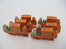 Weidmuller / Siemens Din Rail Mounted Control Relay 24VDC Coil V23057-B3006-A101