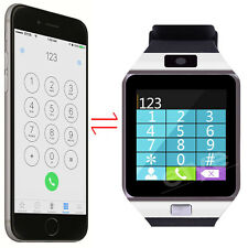 Smart Bluetooth Watch For Apple iPhone IOS Samsung Sony Android Gear Clock Phone