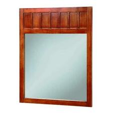 """Foremost Knoxville Wall Mirror in Nutmeg 34"""" x 28"""""""