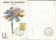 VERONA,GIORNATA DEL FRANCOBOLLO 1966 -F.G.VENETO(VR)N.43314