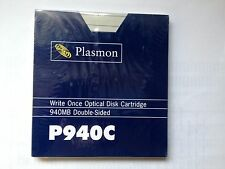"PLASMON P940C 5.25"" 940MB WORM OPTICAL MEDIA COMPATIBLE MAXTOR OC800"