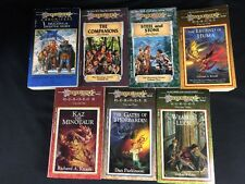 Lot of 7  DragonLance PB Books SEE PICTURES Heroes Saga The Meeting Chronicles