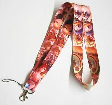 10 pcs Kingdom Hearts Fabric Mobile Phone Lanyard Keychain Strap ~Party Favors