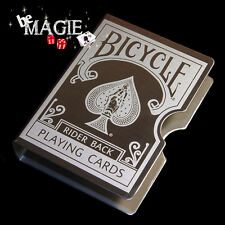 Etui de cartes métallique - Bicycle - Magie - Poker