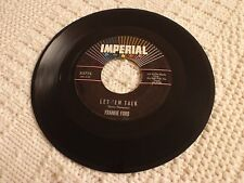 FRANKIE FORD LET EM TALK/WHAT HAPPENED TO YOU IMPERIAL 5776