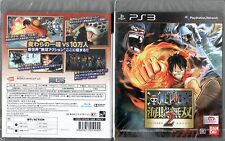 Ps3 juego One Piece kaizoku Musou Pirate Warriors 2 japonés nuevo