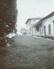 Villa Gamberaia, Settignano, Italy, Casino/Grass Alley,Magic Lantern Glass Slide