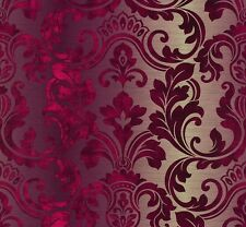 A.S. Création Hollywood 95417-1 Papiertapete Barock  rot violett creme (2,62€/1q