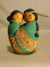 "Enesco Friends Of A Feather ""Love For Many Moons"" 1994 Karen Hahn # 115703"