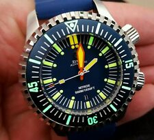 Zixen Nitrox Vintage Limited Edition 500m Divers Watch....Awesome!
