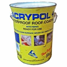 Acrypol+ Flat Roof Waterproofing Solution 5kg in Black