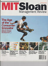 MIT Sloan Management Review Magazine Fall'11,THE AGE OF THE CONSUMER INNOVATOR.