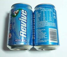 7UP REVIVE ISOTONIC Soda can SINGAPORE 330ml  2013 Pepsi 7 Up Asia Collect