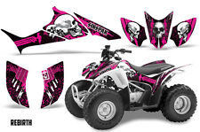 SIKSPAK Honda TRX 90 Graphic Kit Sticker Wrap Quad Decals ATV 06-16 REBIRTH PINK