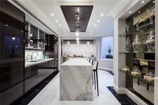 Statuario Marble Bookmatch kitchen worktop and island for £25000 in London