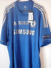 Chelsea 2013 europa league final hazard 17 football Shirt bnwts