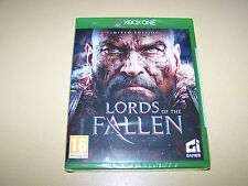 Lords OF THE CADUTO (XBOX ONE) Limited Edition ** NUOVO E SIGILLATO **