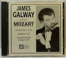 James Galway performs Mozart (Musical Heritage Society, 1992) (cd3404)