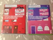 New House Kit Fire Station & Doll house Kit Boy's Girl's Ages 3 and Up