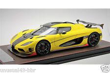1/18th Frontiart Koenigsegg Agera ML Yellow Exclusive Ver  / MR , BBR, Autoart