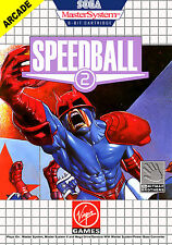 Speedball 2 SEGA Master System Framed Print (Man Cave Picture Game Gaming Art)