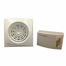 Envirovent SIL100HTP12V Low Voltage Silent Extractor Fan with Humidistat SELV