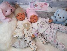 ninisingen Reborn Reallife Zwillinge Pärchen Puppe Babypuppe  Baby Rebornpuppe