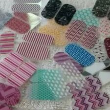 Jamberry Nail 10 Pedi-Packs /20 Wraps Pieces Assorted Mixed Lot New For Toes