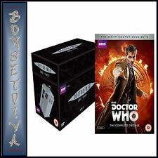 DOCTOR WHO SERIES 1 - 4 PLUS THE COMPLETE SPECIALS -*** BRAND NEW***