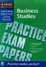 A-level and AS-level Business Studies (LONGMAN PRACTICE EXAM PAPERS), Brindley,