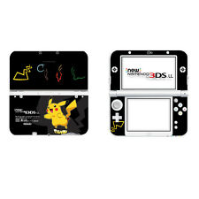 Pokemon Pikachu Vinyl Cover Skin Sticker for New Nintendo 3DS XL LL Console
