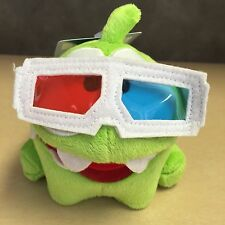 "NEW, Cut The Rope 5"" 3D Om Nom Toy"