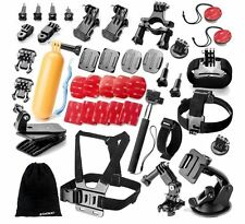 Outdoor Sports Accessories Kit for GoPro Hero Black Silver 5/4/3+/3/2/1 And More