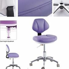 Microfiber Leather Medical Dental Chair Doctor's Stools Dentist's Mobile Chair