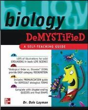 Demystified Ser.: Biology Demystified by Dale P. Layman (2003, Paperback)