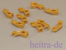 Lego - 10 x brazo/Mechanical, Exo-Force, Bionicle oros/mercancía nueva 98313