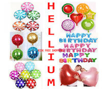 "HELIUM 18"" Foil Balloon 1st-18th Happy Birthday Party Balloons ALL COLORS"