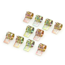 """10Pcs Spring Clip Fuel Oil Water Hose Tube Pipe Clamp Fastener 6mm / 0.24"""" FF"""
