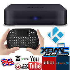 MXQ+Keyboard KODI(XBMC) Android TV Box HD Media Player Streamer HDMI WIFI NEW UK