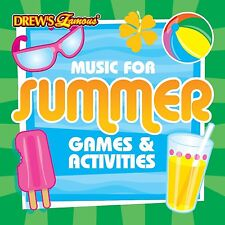 Drew's Famous MUSIC FOR SUMMER GAMES & ACTIVITIES CD - BEACH & POOL PARTY SONGS!