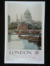 POSTCARD GWR - LONDON ST PAULS CATHEDRAL